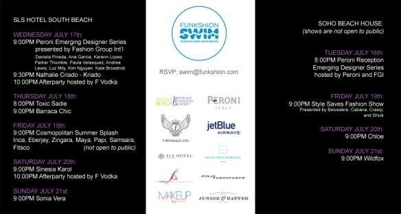 miami swim week, miami swim events, free swim events, mercedes benz swim miami
