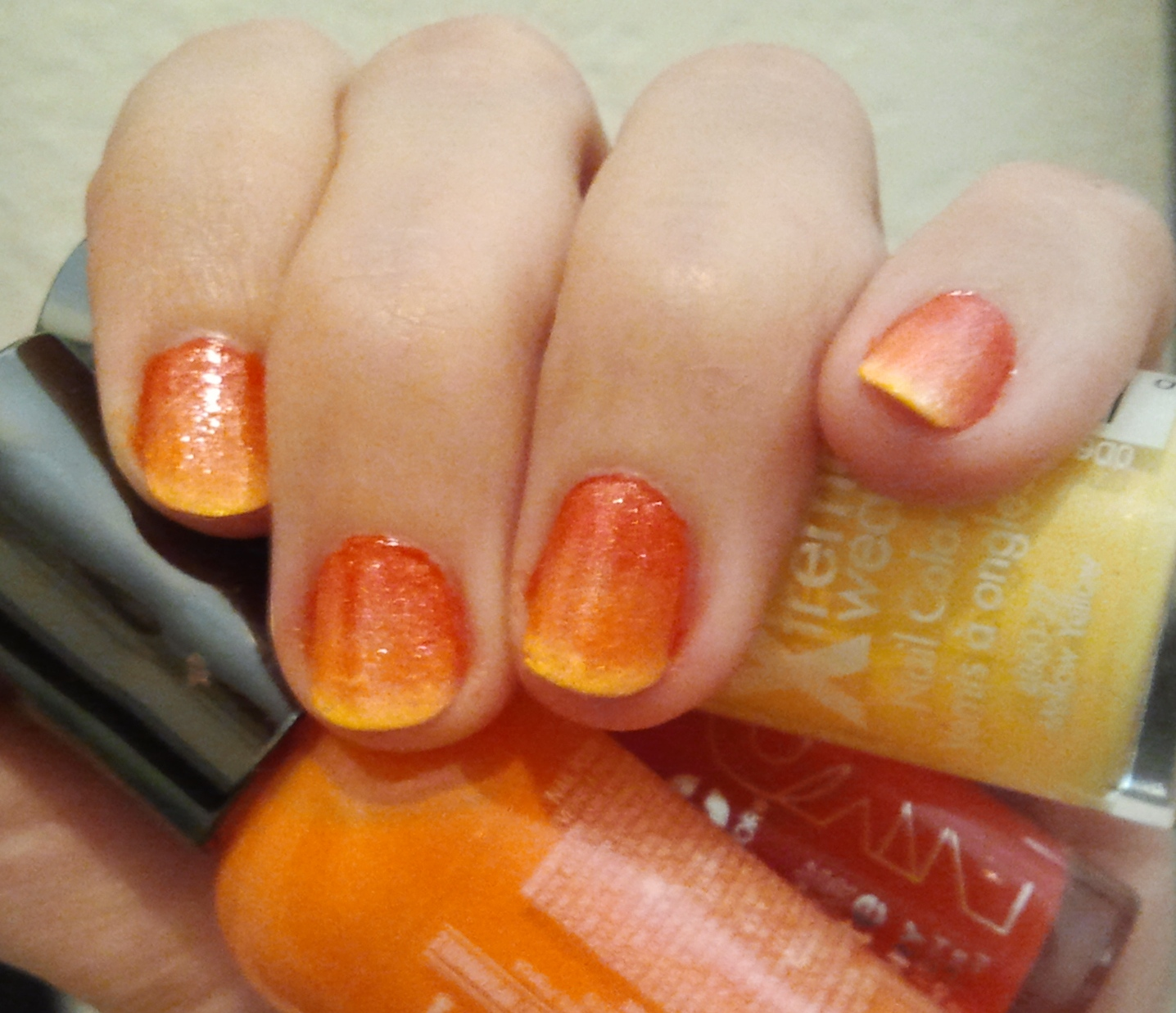 Marvelous Mode: Yummy Candy Corn DIY Nails!! – ♥THE HAUTE FRUGALISTA♥