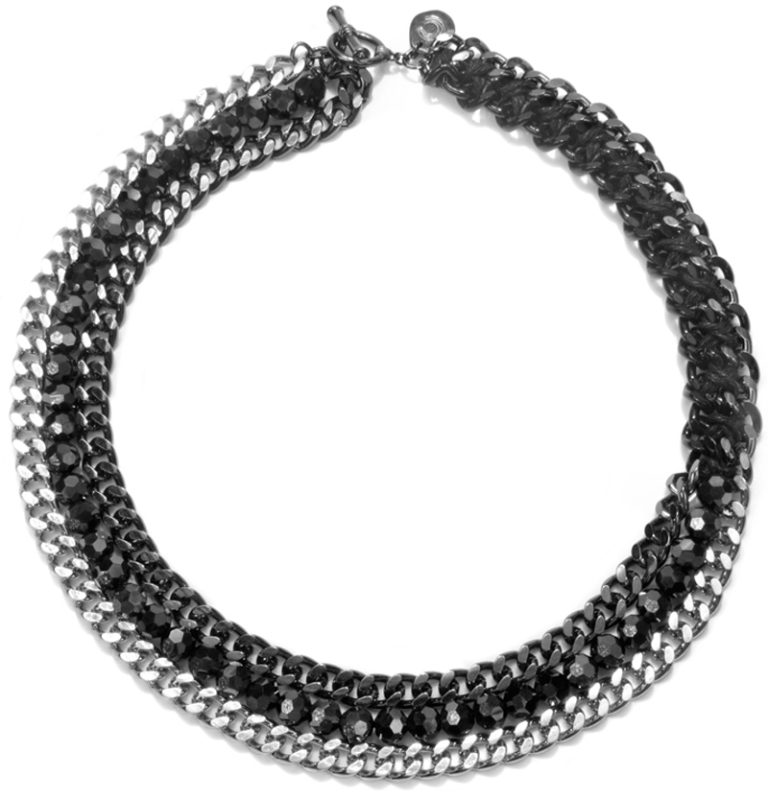 Black-Threaded-Curb-Chain-Toggle-Necklace-CH12N48MP