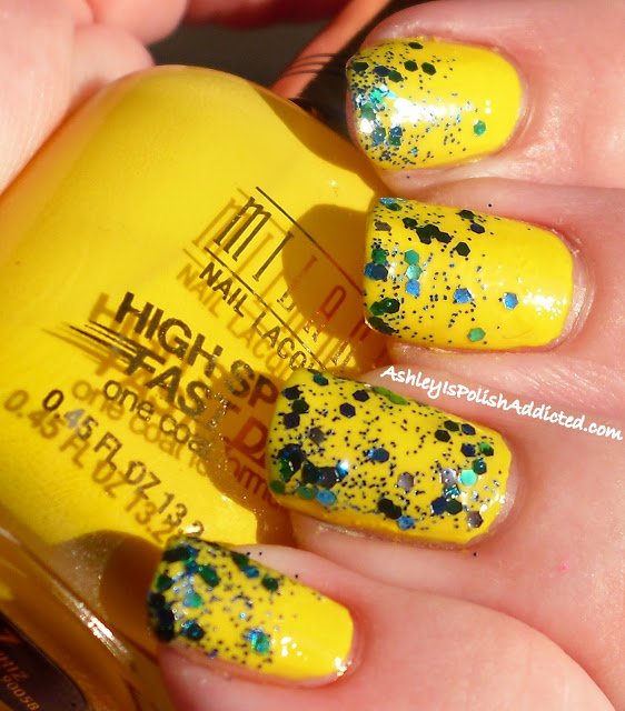 31 30 day challenge milani yellow whiz swatch 1