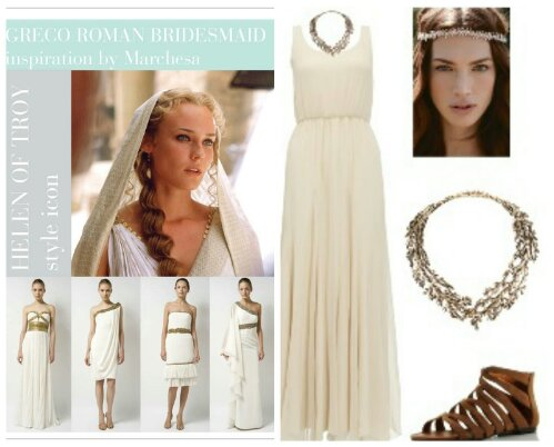 Greece Influenced Wedding Dresses