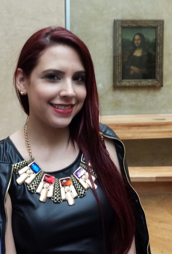 Leonardo Da Vinci's Mona Lisa Meets Cleopatra (My AlmaMei.com Necklace)!