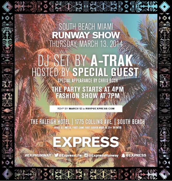 EXP Miami Runway Evite - Blog