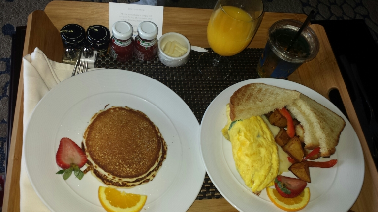 Breakfast for Mom at Wyndham Grand Orlando Hotel and Resort, Bonnet Creek