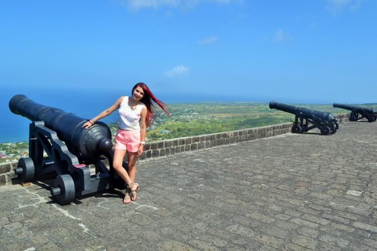 #travel #ootd- @HauteFrugalista in Brimstone, St Kitts