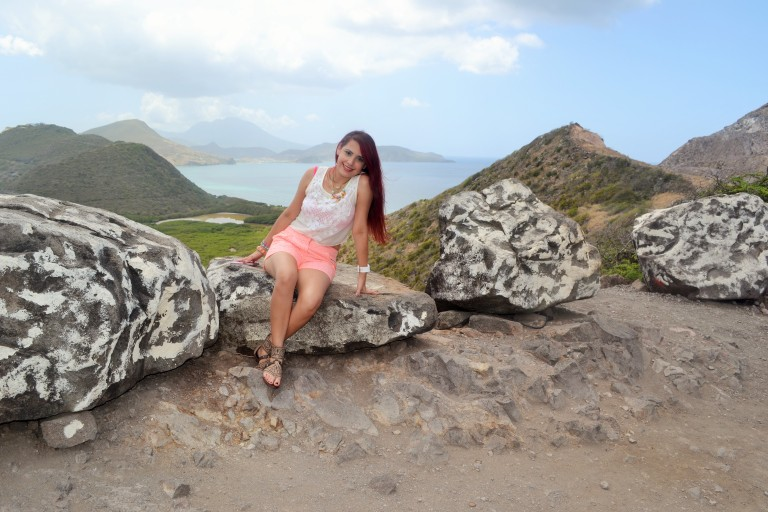 #travel #ootd- @HauteFrugalista in St Kitts.