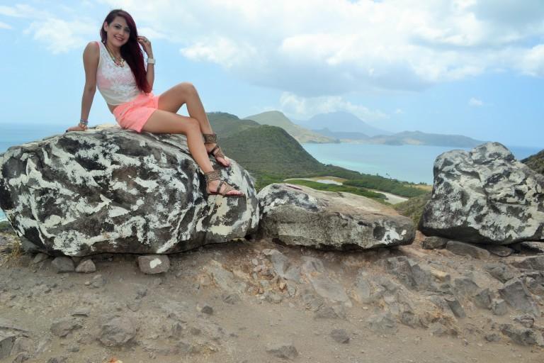 #travel #ootd- @HauteFrugalista in St Kitts.